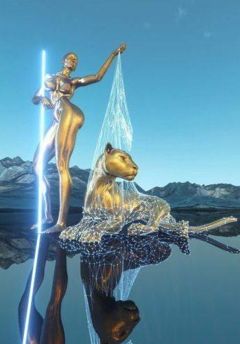 Chad Knight triunfa en la red con sus esculturas digitales