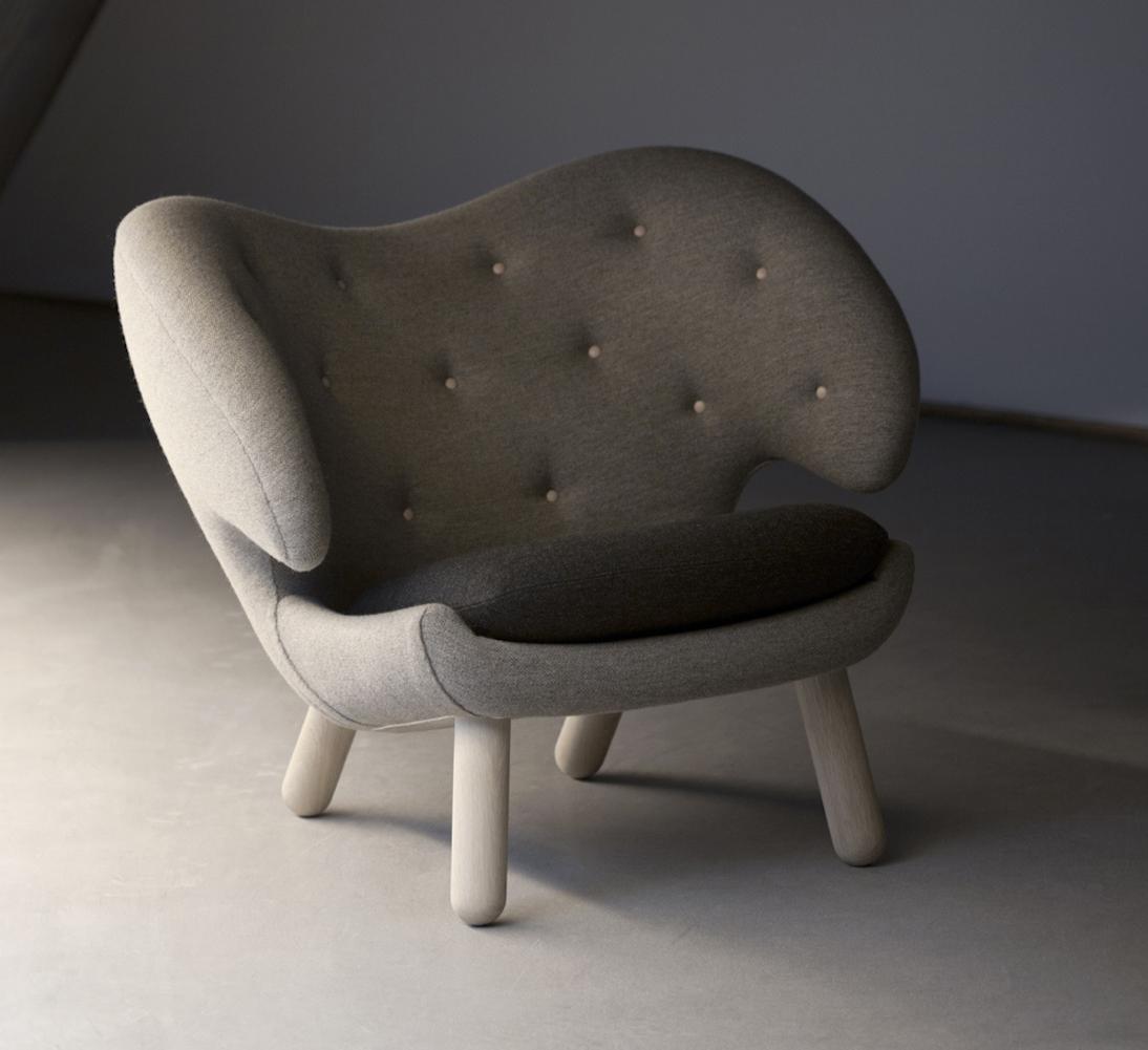 butaca pelícano diseñada por finn juhl