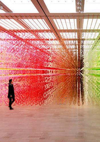 El bosque de números de Emmanuelle Moureaux desborda nuestra imaginación