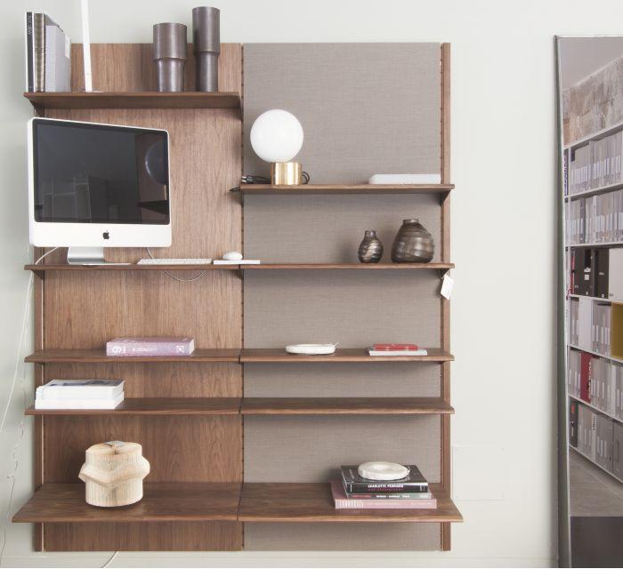 estantería panel system diseñada por finn juhl