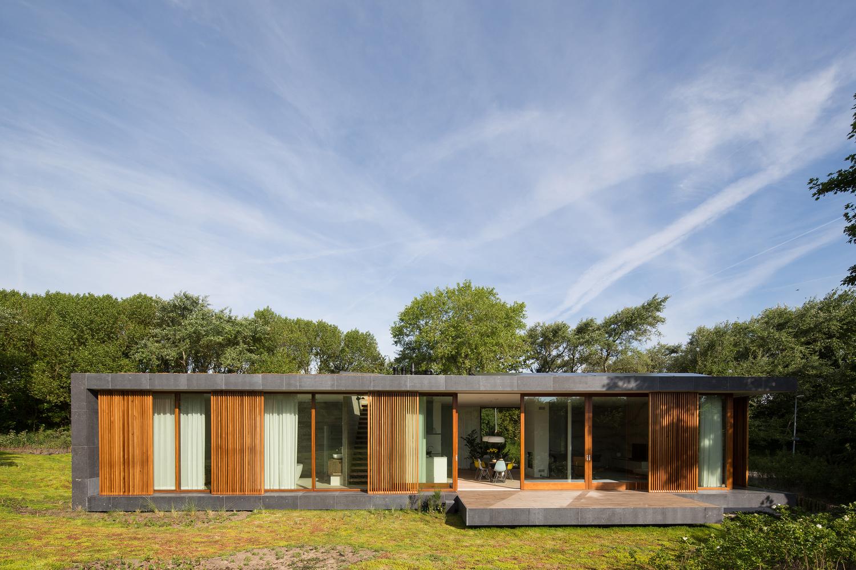 Villa H, un loft al aire libre junto a la costa holandesa