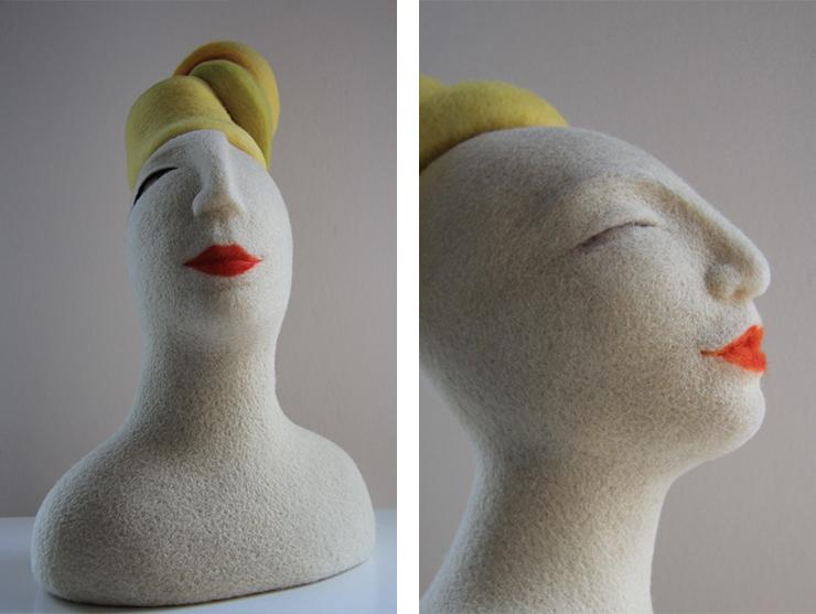 esculturas creadas para habitar un espacio por Teresa Rancaño