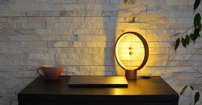 lampara premiada con el design dot award