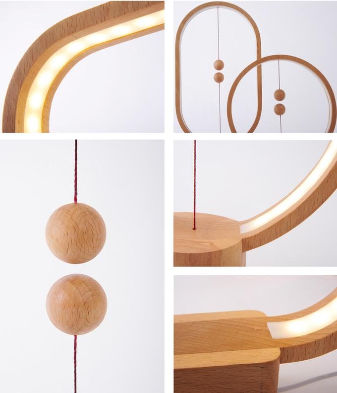 detalles de la lampara heng balance