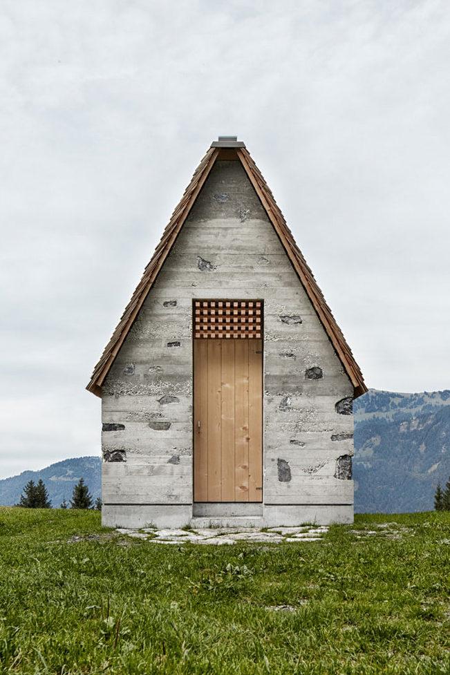 Wirmboden, la humilde capilla alpina que tardó tres años en construirse