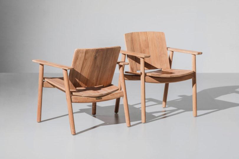 sillas de la colección de jasper morrison para kettal
