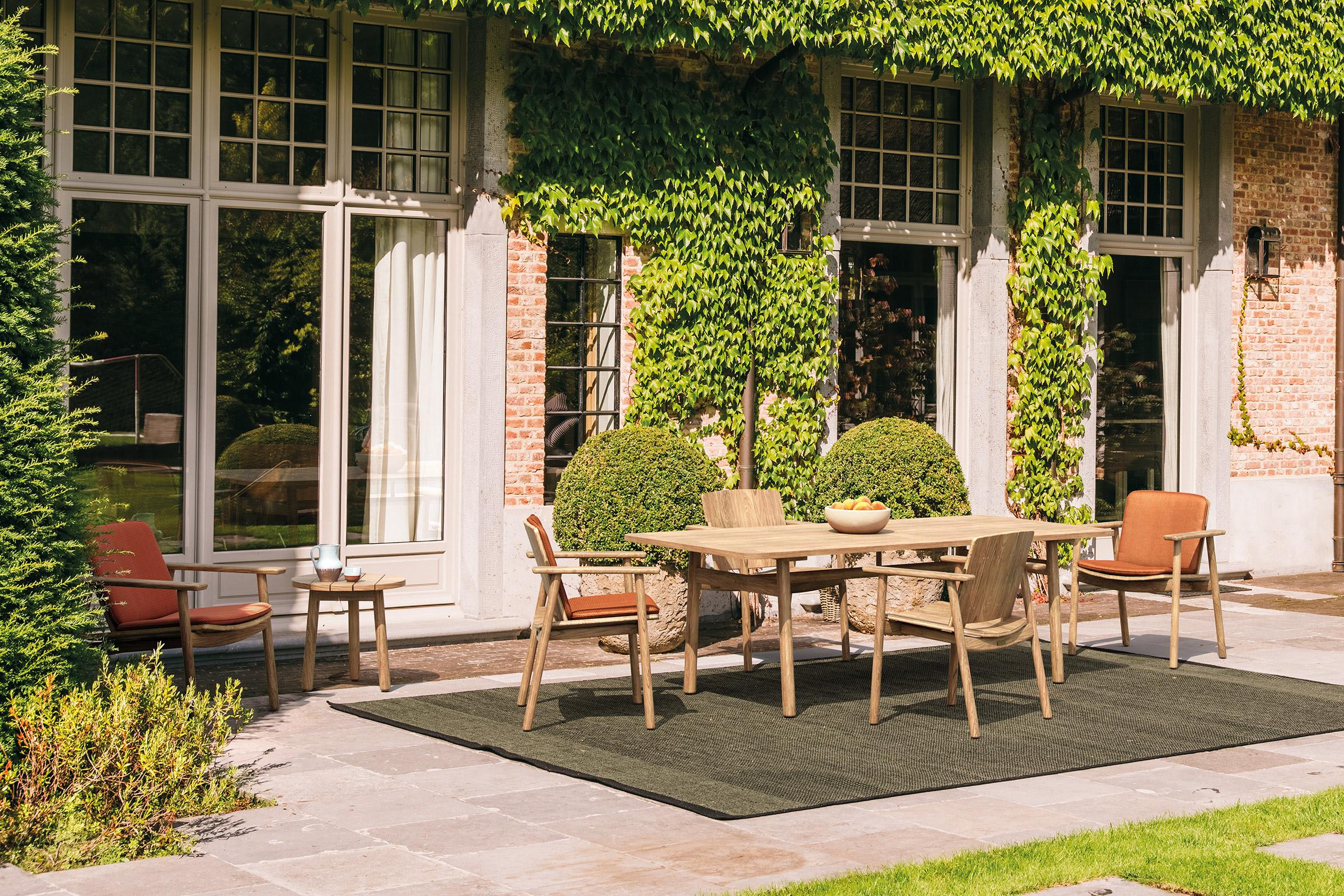 Kettal ampl a su mobiliario de exterior con riva de for Mobiliario de exterior