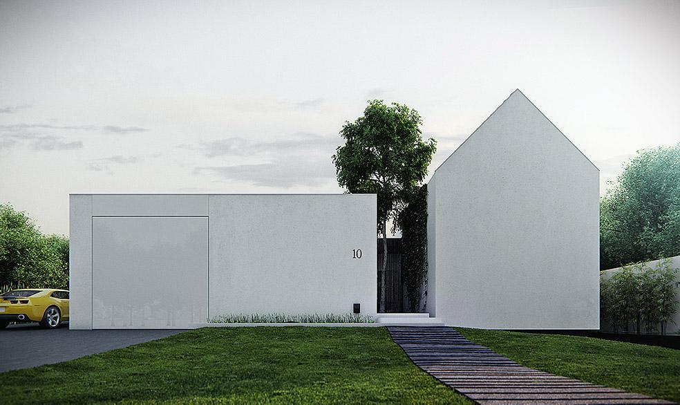 Surprise-house, un diseño críptico con mucha vida interior