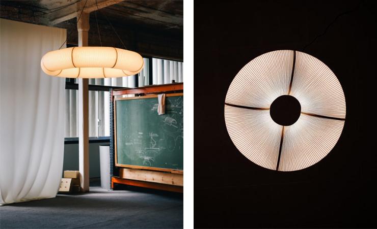 lampara tekio diseñada pon Anthony Dickens