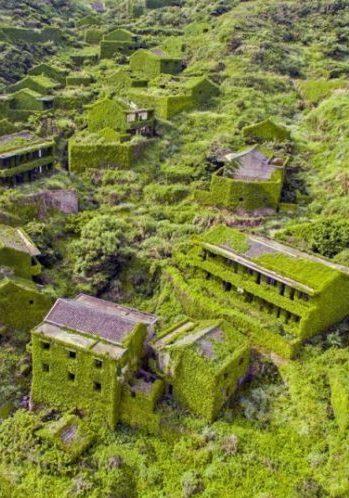 Houtouwan: la aldea china engullida por la naturaleza