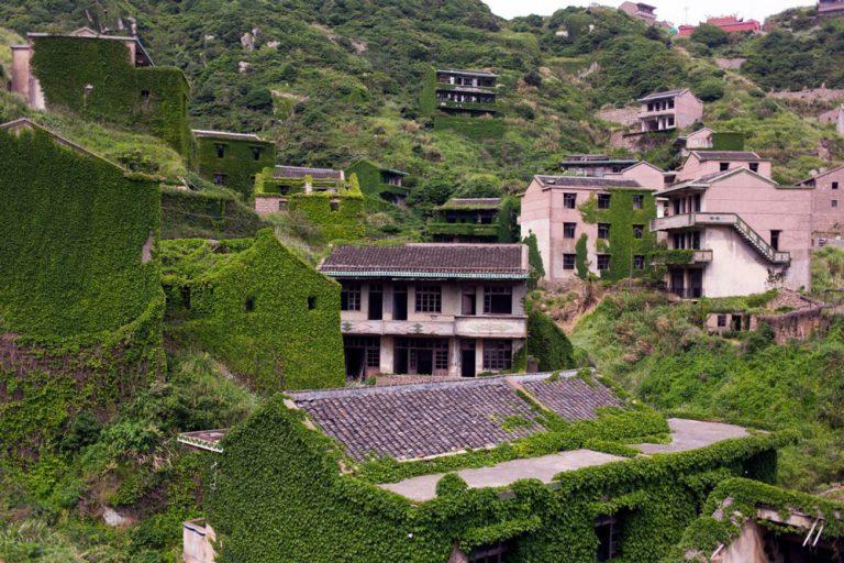casas abandonadas en houtouwan