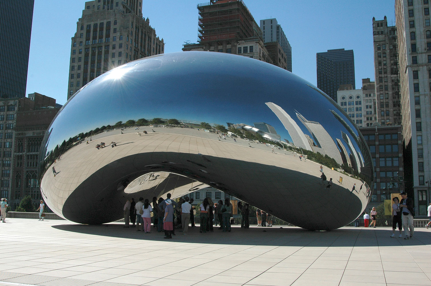 obra cloud gate de anish kapoor en chicago