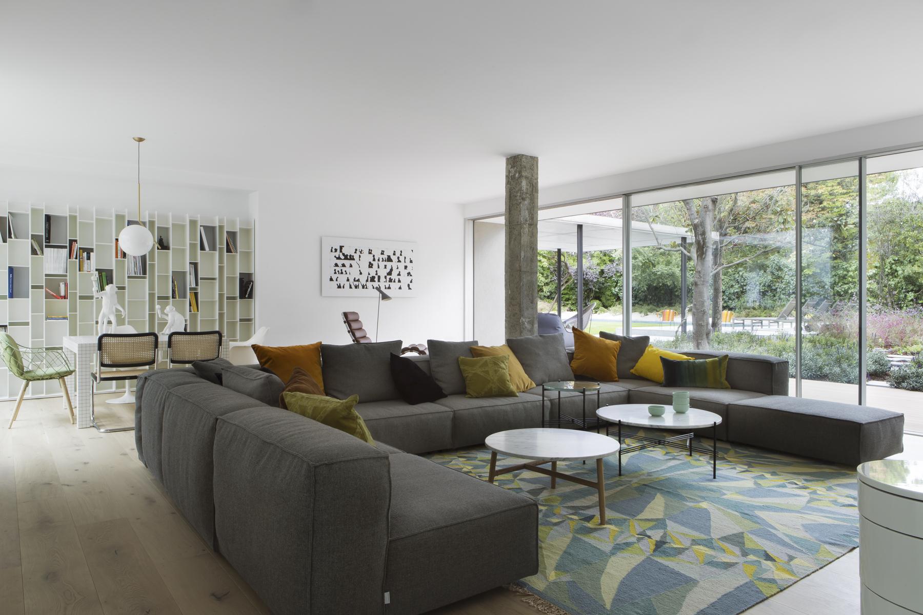 Proyecto de reforma estudio ÁBATON arquitectura. Casa L Salon