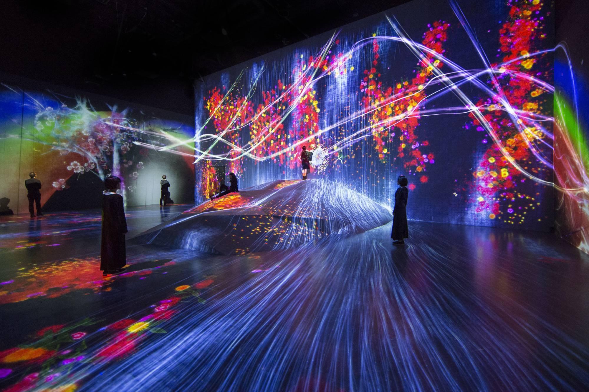 instalacion digital museo nacional de tokyo