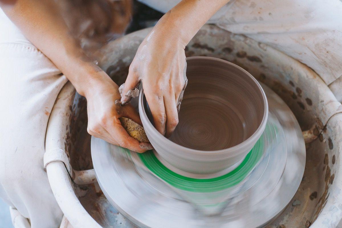 proceso de realización de un bol