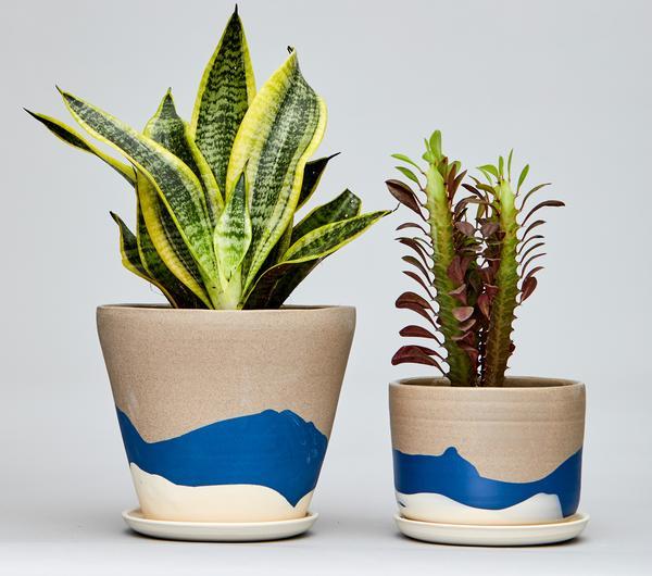 jardineras de cerámica de helen levi