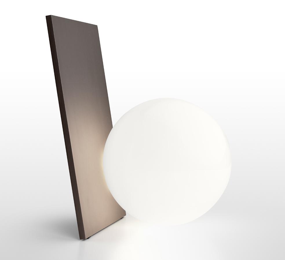 lampara de sobremesa extra T en bronce