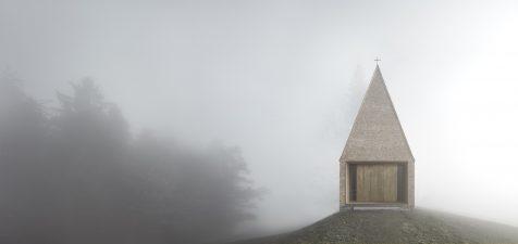 Bernardo Bader rejuvenece las ermitas alpinas con su Capilla Salgenreute