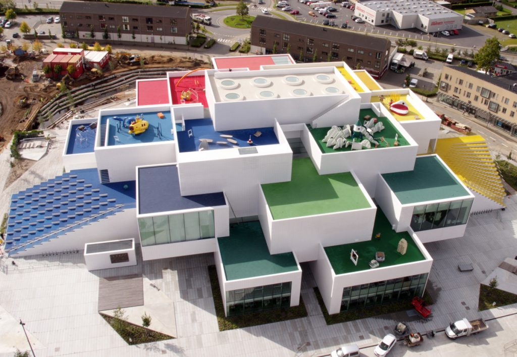Edificio Lego House de BIG