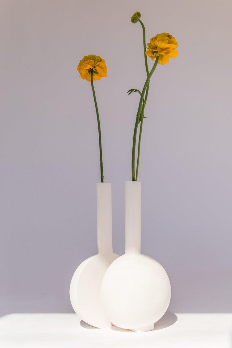 duo vase matt creado por valeria vasi