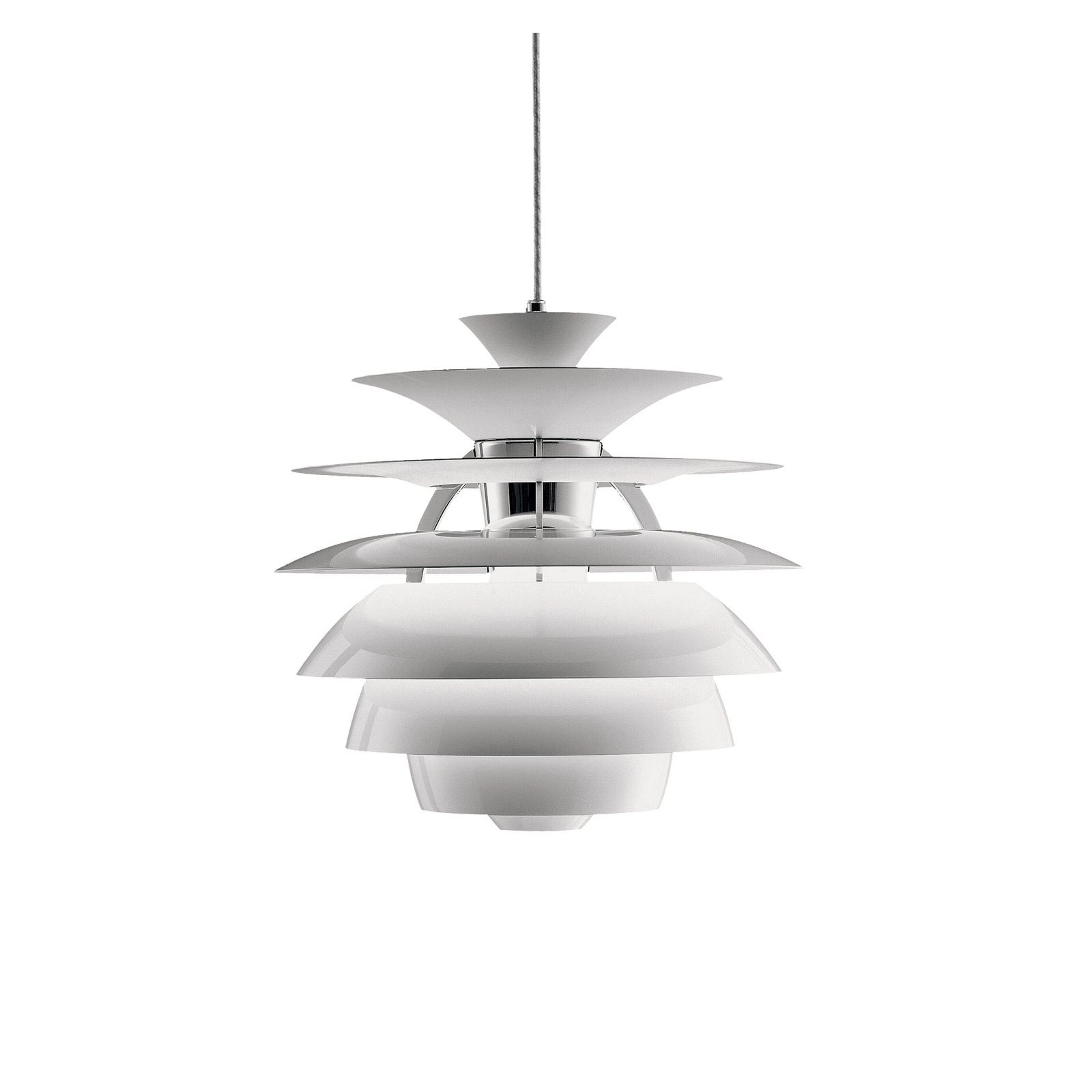 lámpara ph snowball diseñada por poul henningsen