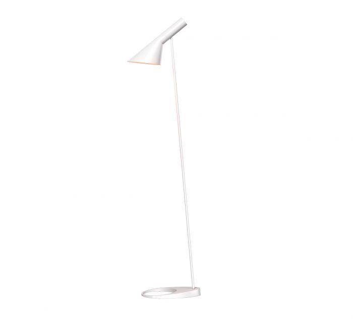 lampara de pie AJ diseñada por arney jacobsen marca louis poulsen