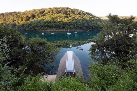 Berberis Boathouse, un cobertizo con encanto en el suroeste de Inglaterra
