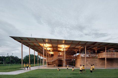 Una escuela rural brasileña elegida «mejor edificio nuevo del mundo»