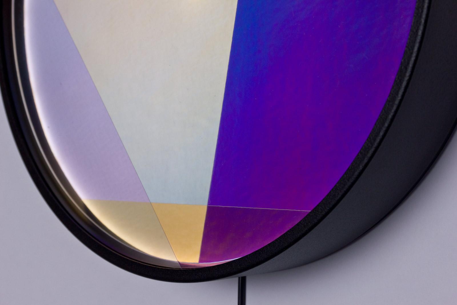 detalle de las lamparas de la serie colors of the day