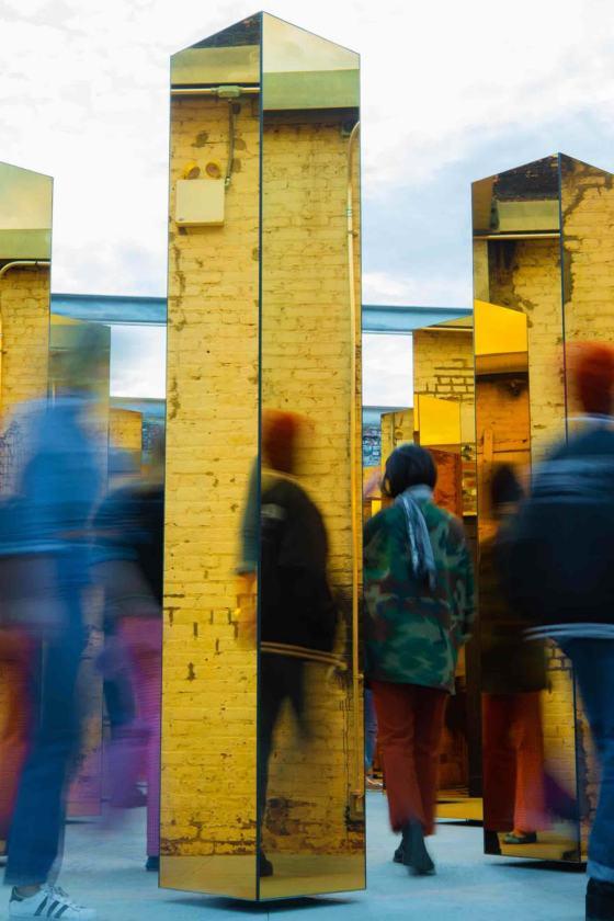 los visitantes reflejados en varias columnas a la vez