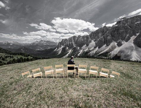 SMACH 2019: Un espectáculo de Land Art con vistas a los Dolomitas