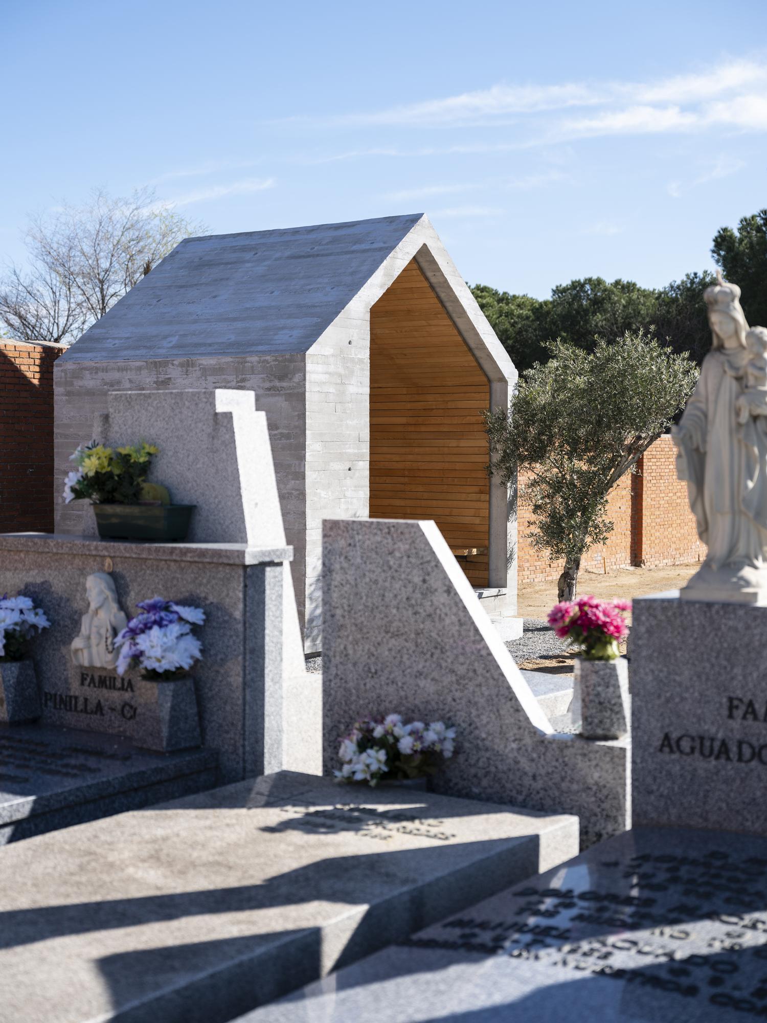 Panteon ÁBATON arquitectura Fotografía Juan Baraja Cementerio Hormigón Diseño