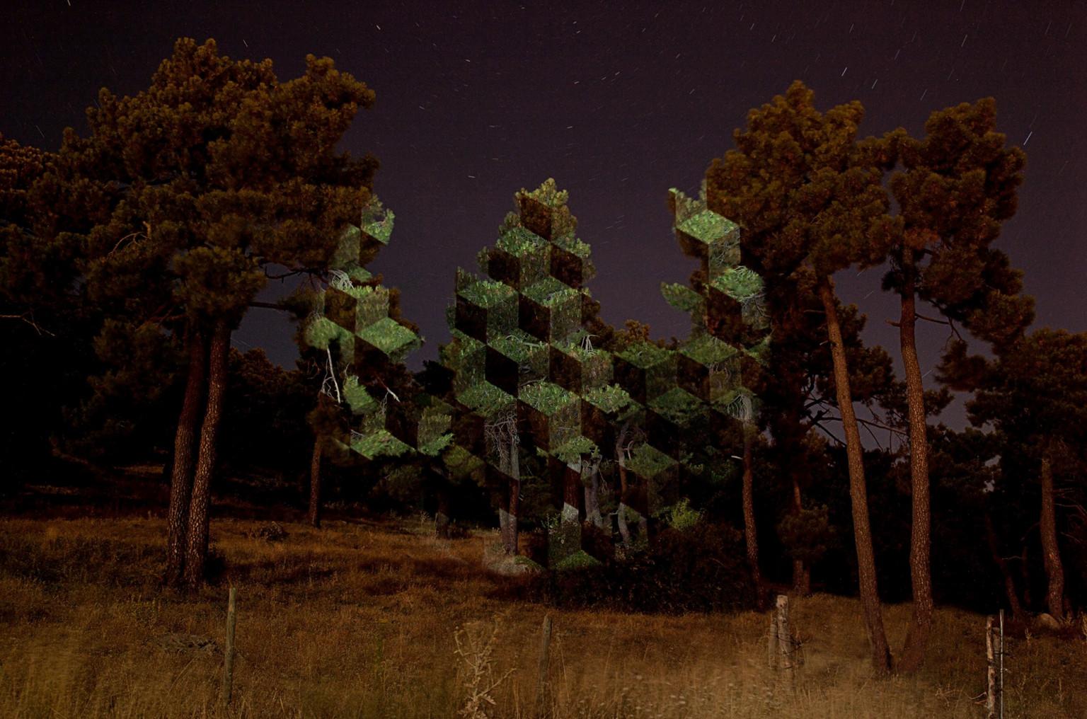 proyecciones luminosas de javier riera