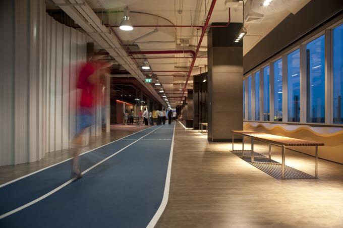 pista de atletismo de Datac Headquarters en Bangkok