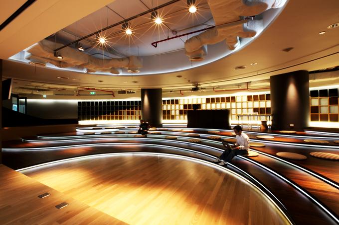 espacio para conciertos de Datac Headquarters en Bangkok