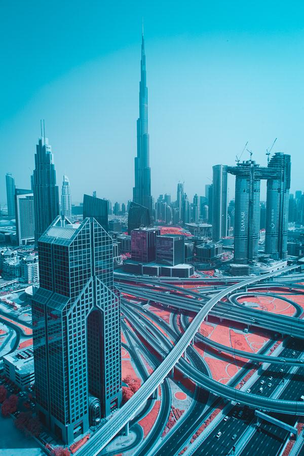 rascacielos en Dubai, fotografía de paolo pettigiani