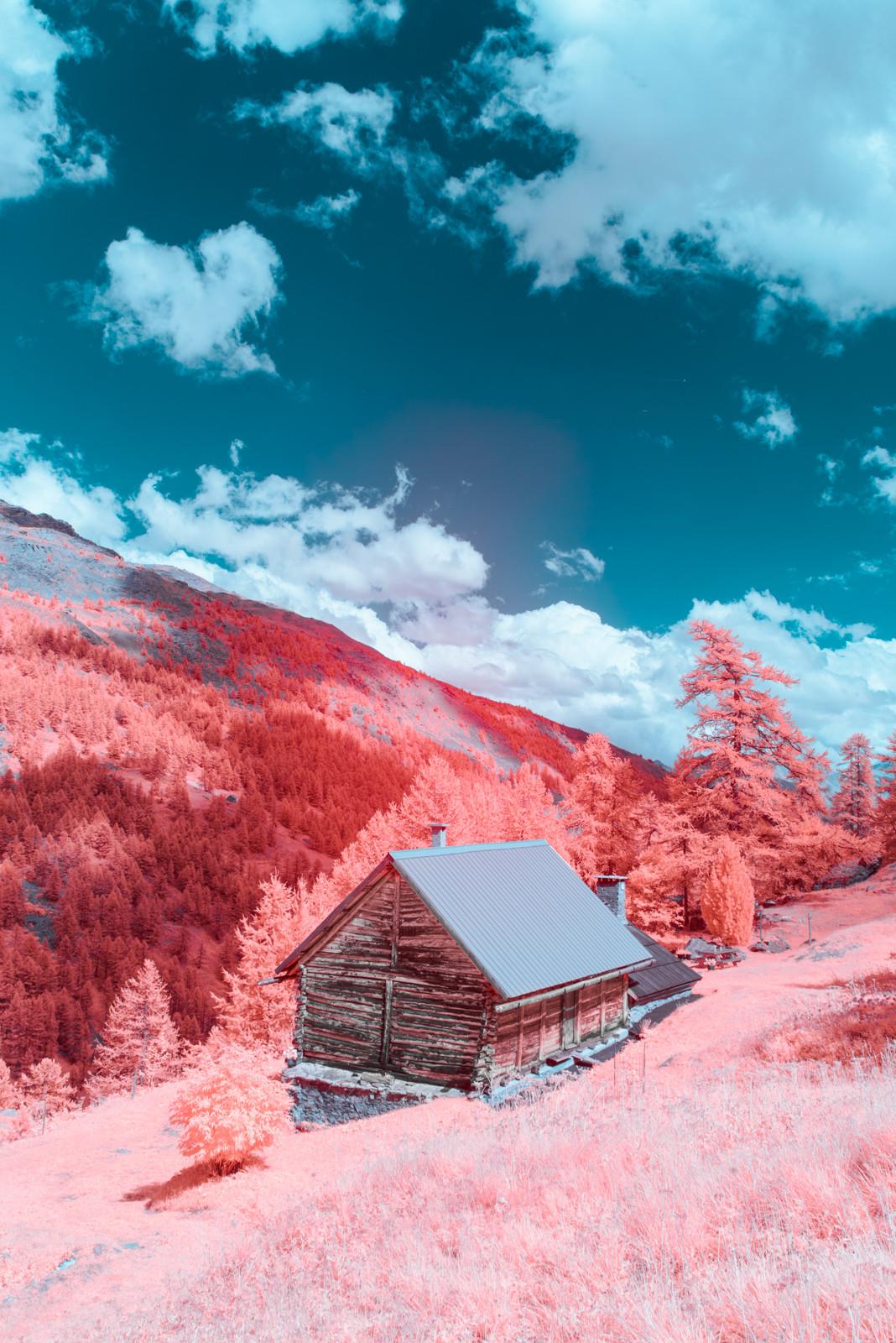 fotografia infrarroja de paolo pettigiani