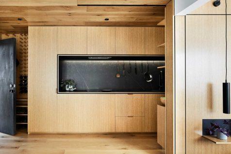 Jack Chen multiplica su pequeño apartamento con muchos elementos ocultos