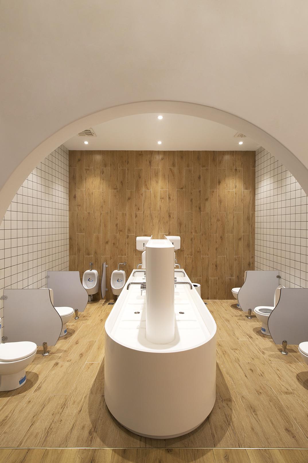 baños guardería kindergarten