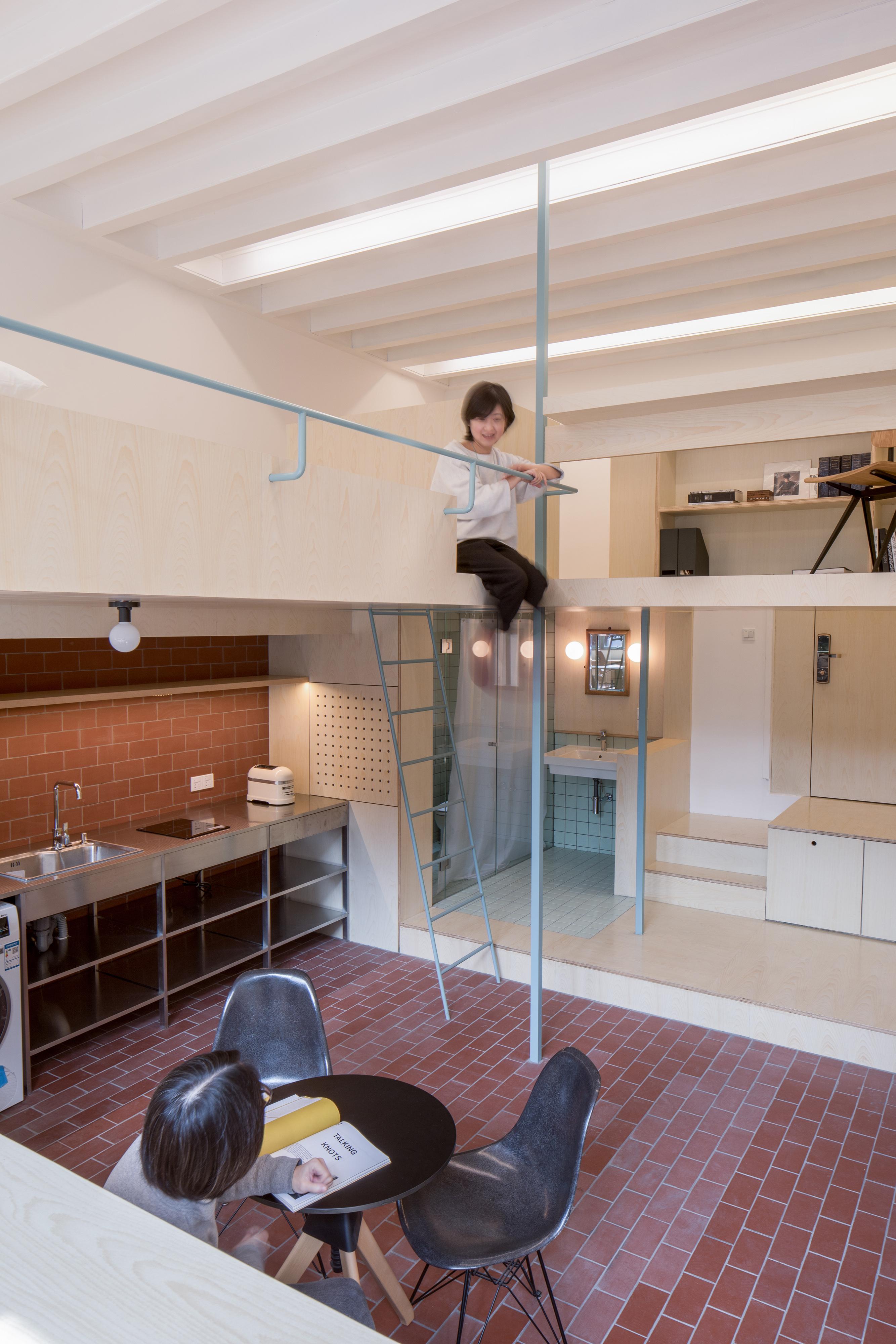 apartamento en dos niveles