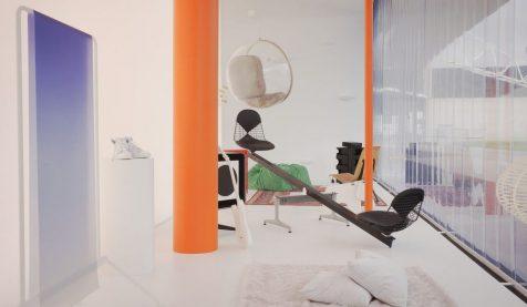 Virgil Abloh imagina el mobiliario de 2035 renovando clásicos de Vitra