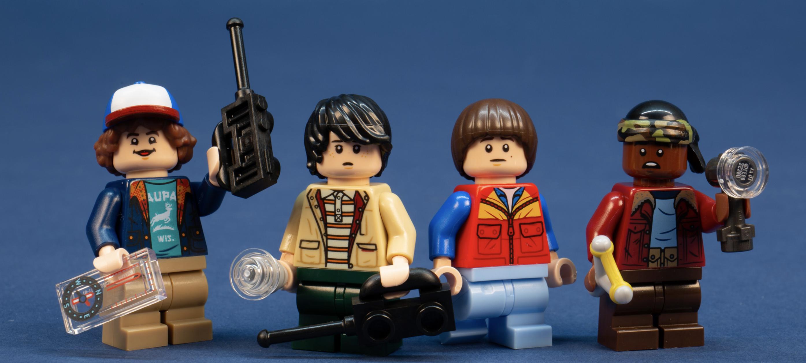LEGO sorprende a los fans de Stranger Things