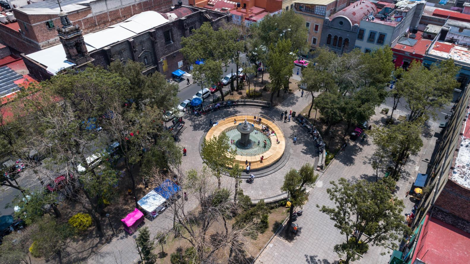 plaza loreto de mexico df