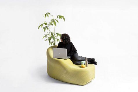 Tesalónica imprime su nuevo mobiliario urbano con basura plástica