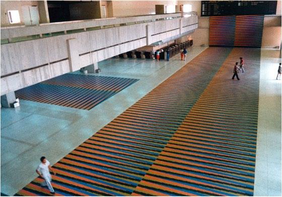 vista general de Cromointerferencia de color aditivo aeropuerto Simón Bolívar