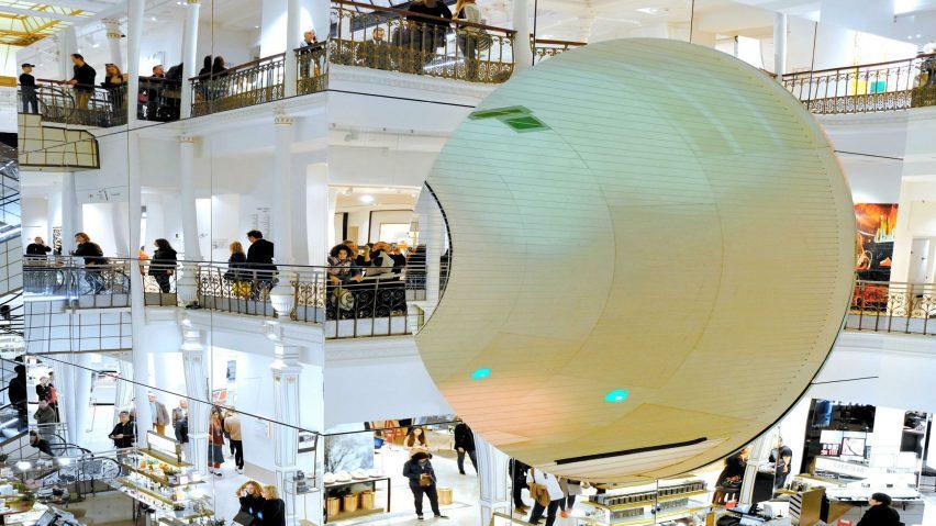 vista general de la instalación Le Cube de Mana