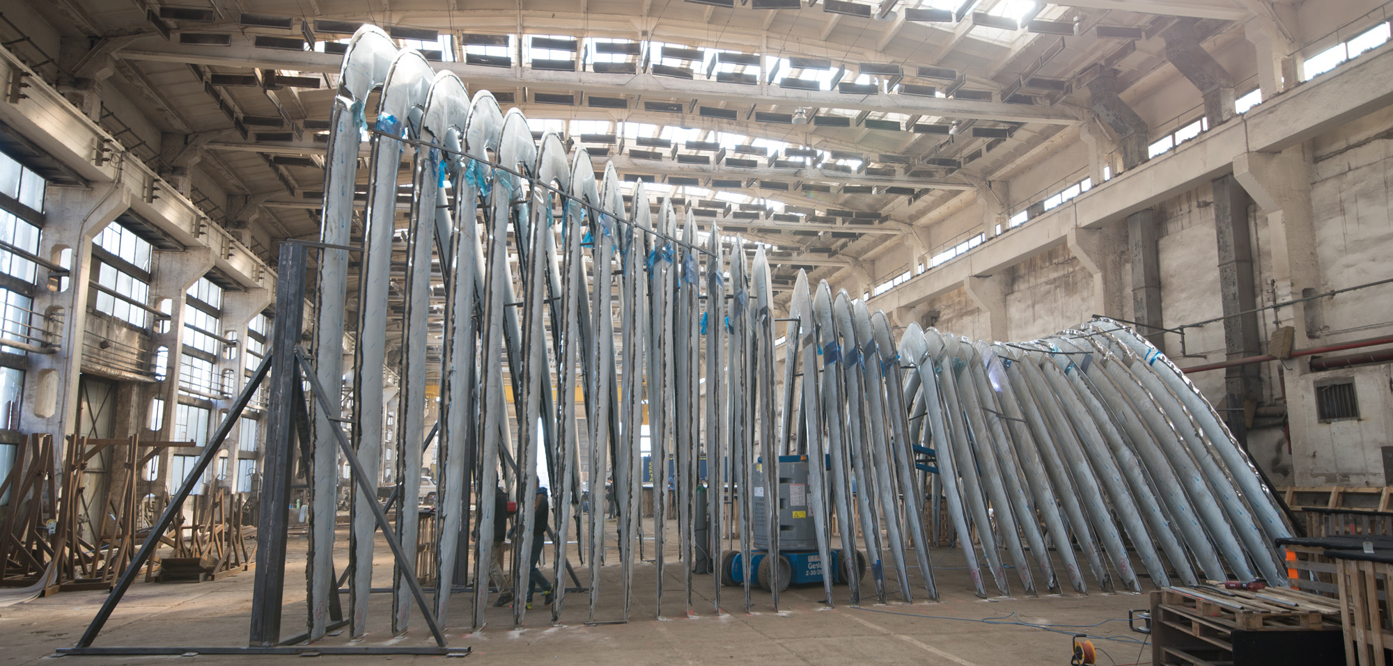 proceso de construccion de Nawa con tecnologia fidu