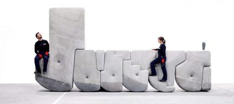 Matter Design traslada moles de hormigón usando solo las manos