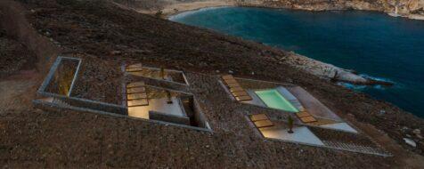NCaved, una audacia subterránea con vistas al Egeo