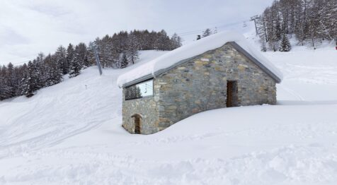 Casa Gaudin, un cómodo refugio para explorar los Alpes